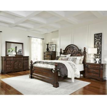 Panel Bed Set