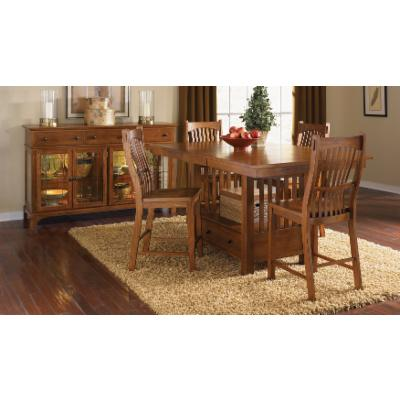 Craftsman & Mission Style Kitchen and Dining Room Table Sets ...