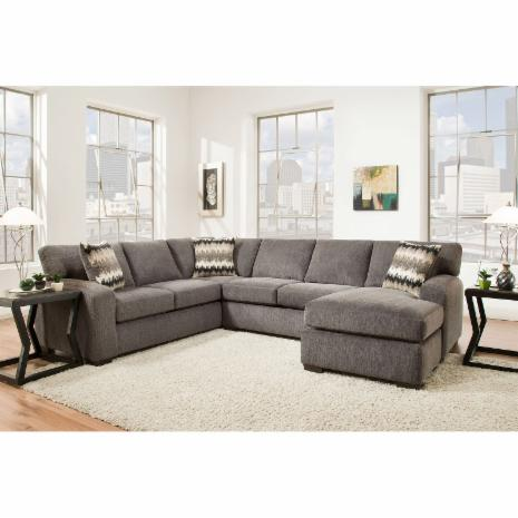 Chelsea Home Furniture Twist 2 Piece Sectional