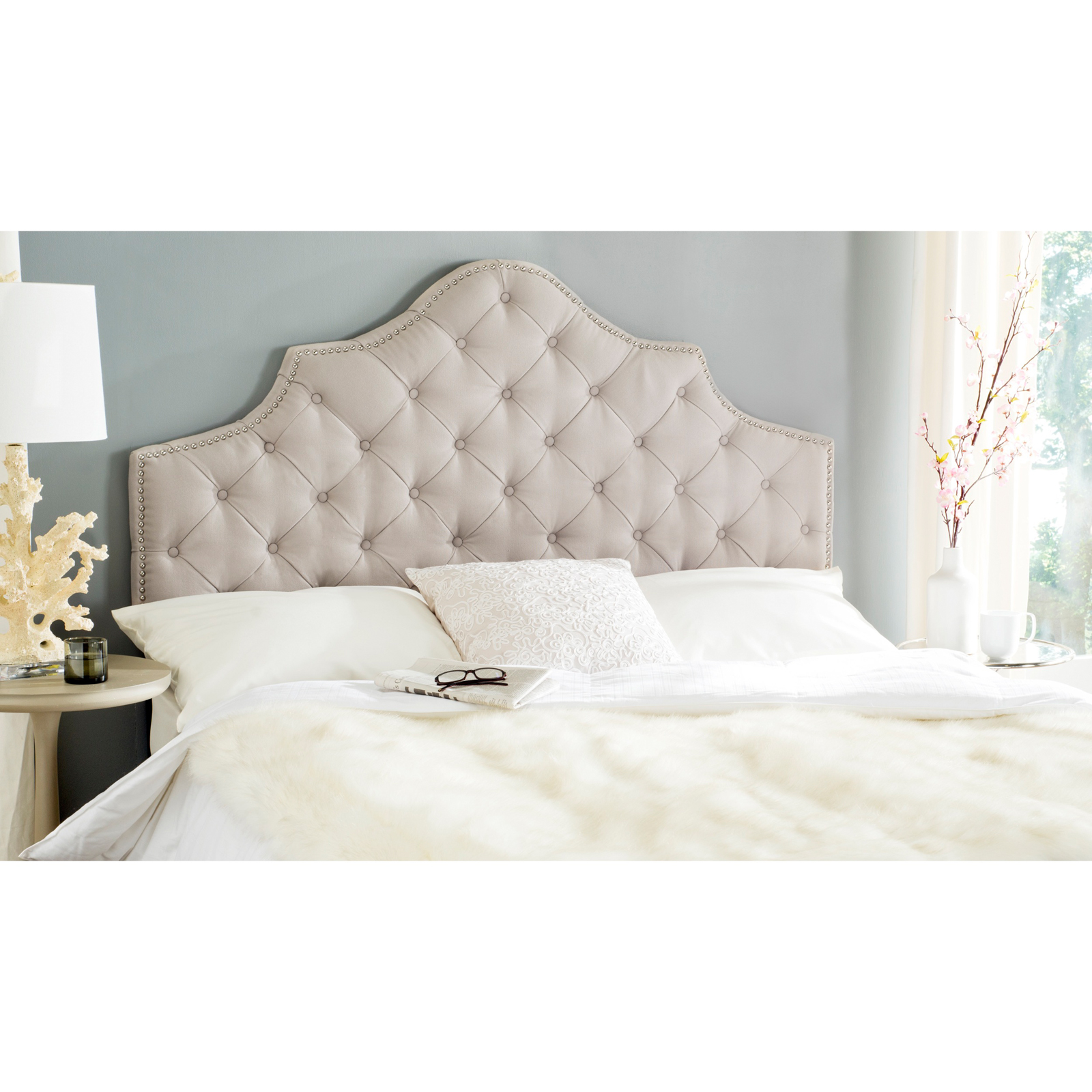 product master slipcovered tufted modway upholstered lily headboard hayneedle cfm