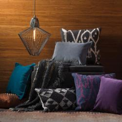 Jewel-Toned Pillows & Throws