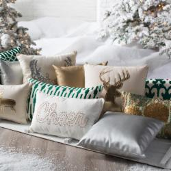Holiday Pillow Party