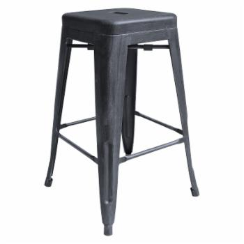 Home Chic Deion Industrial 26 in. Counter Stool
