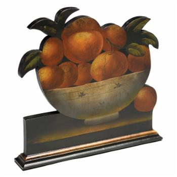 AA Importing Hand Painted Fruit Decorative Bowl