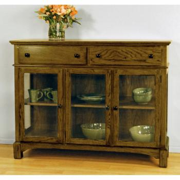 A-America Laurelhurst 54 in. Dining Buffet - Rustic Oak Finish