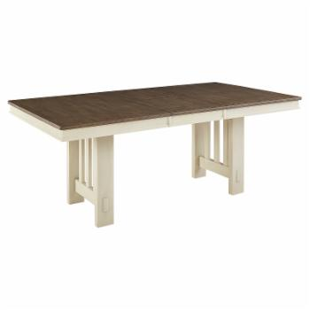 A-America Bremerton Trestle Dining Table