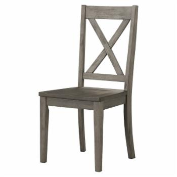 A-America Huron X-Back Side Dining Chair - Set of 2
