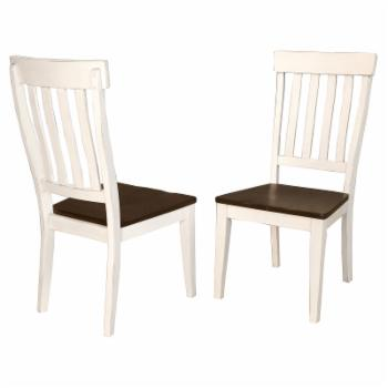 A-America Mariposa Slatback Dining Side Chair - Set of 2