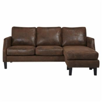 Abbyson Franklin Reversible Sectional