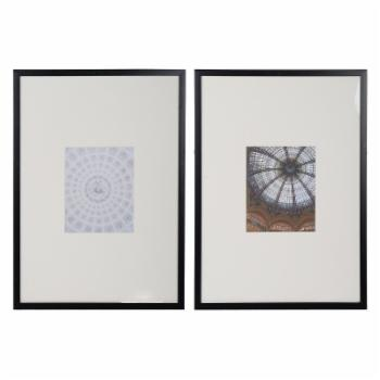 A & B Home Roman Cathedral Cardboard Picture Prints - Set of 2