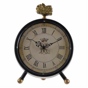 A & B Home Lavonia Table Clock