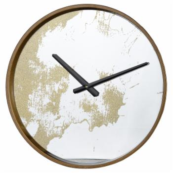 A & B Home 15 in. Round Wall Clock