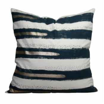 A & B Home Decorative Striped Pillow