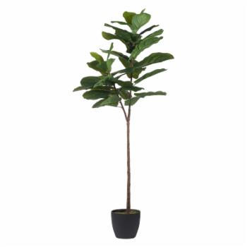 A & B Home Fiddle Leaf Artificial Fig Tree