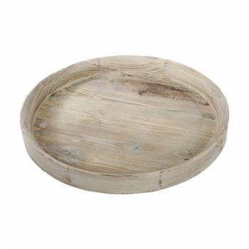 A & B Home Wooden Tray