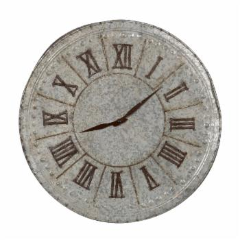 A & B Home Industrial 20 in. Roman Numeral Wall Clock