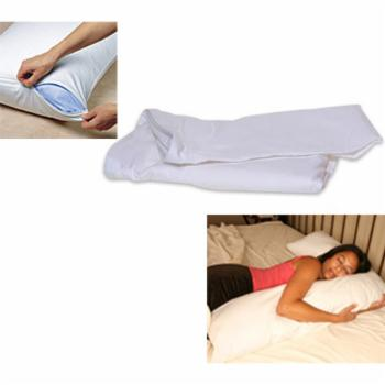 Deluxe Comfort Full Body L Shaped Stain Resistant Pillow Cover