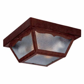 Acclaim Lighting Builders Choice 2 Light Outdoor Ceiling Mount Light Fixture