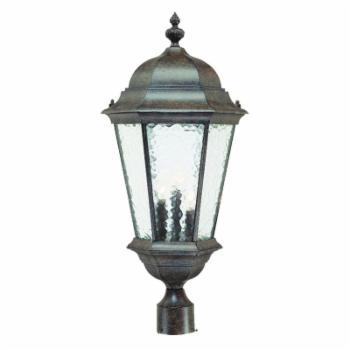 Acclaim Lighting Telfair 3 Light Outdoor Post Mount Light Fixture