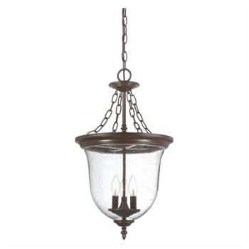 Acclaim Lighting Belle 3 Light Outdoor Hanging Lantern Light Fixture