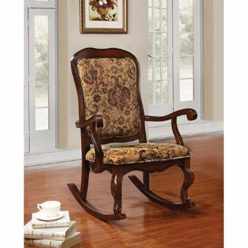Acme Furniture Sharan Rocking Chair- Floral