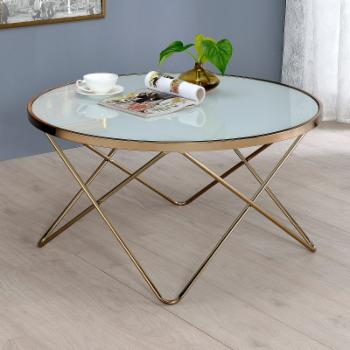 ACME Valora Frosted Glass Coffee Table