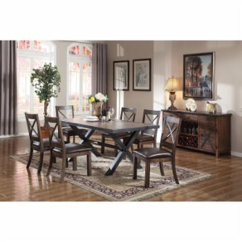 Acme Furniture Earvin Trestle Dining Table