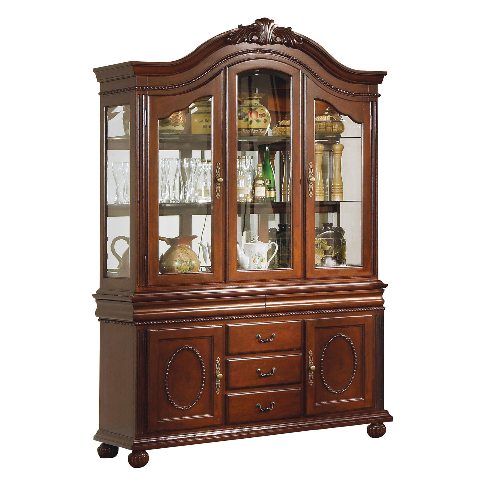 Incroyable Acme Furniture Classique Buffet With Hutch