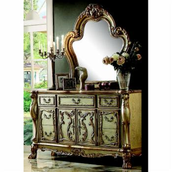 Acme Furniture Dresden 7 Drawer Dresser with Optional Mirror