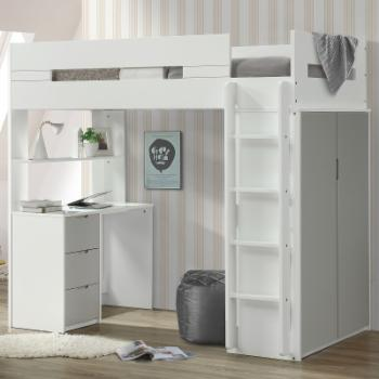 Acme Furniture Nerice Twin Loft Bed
