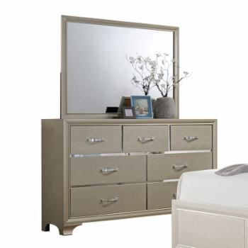 Acme Furniture Carine 7 Drawer Dresser with Optional Mirror