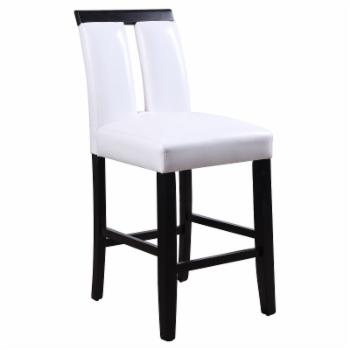 Acme Furniture Bernice 25 in. Counter Height Dining Chair - Set of 2