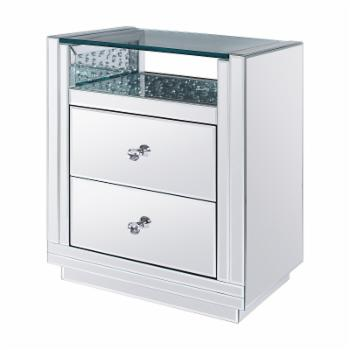 Acme Furniture Nysa 2 Drawer End Table