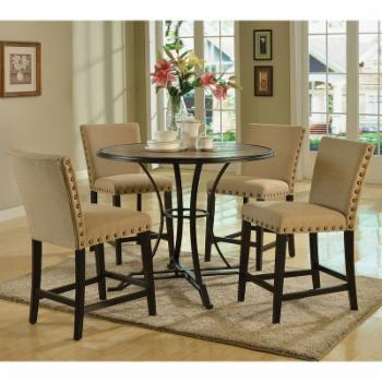 Acme Furniture Byton Counter Height Dining Chairs - Set of 2