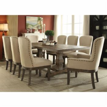 Acme Furniture Landon 9 Piece Rectangular Dining Table Set