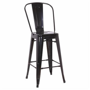 A C Pacific 26 in. Splat Back Counter Stool - Set of 2