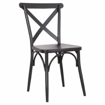 A C Pacific Cross Back Dining Side Chair