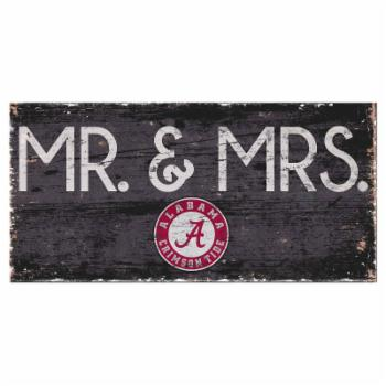 Fan Creations NCAA Mr. and Mrs. Sign