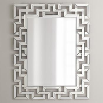 Afina Modern Luxe Rectangular Wall Mirror - 32W x 42H in.