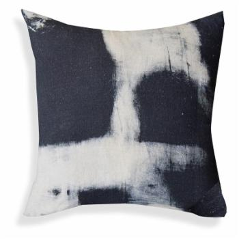 A1 Home Collections Hand Printed Black and White Throw Pillow