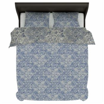 Fiesta Reversible Print Duvet Set by A1 Home Collections