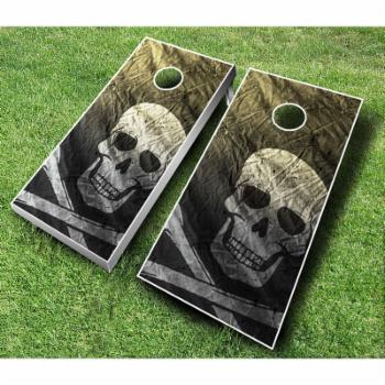 Pirate Cornhole Set with Bags