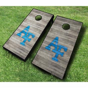 NCAA Air Force Falcons Distressed Cornhole Set