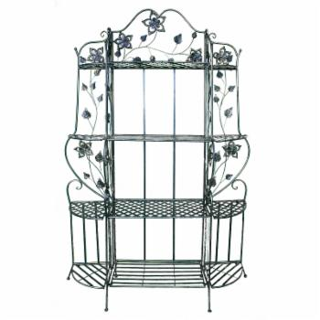 Heather Ann Creations Piper 4 Shelf Bakers Rack