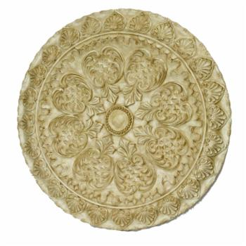 Heather Ann Creations Helena Classic 42 in. Round Wall Plaque