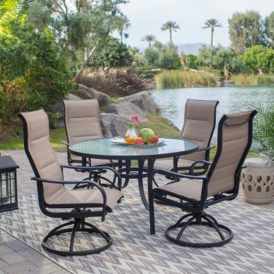 42961327a7f Round Patio Dining Sets