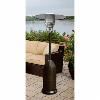 Hanover 7.5 ft. Round Wicker Propane Patio Heater