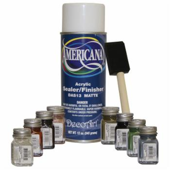 Alpine Testors Touch Up Fountain Paint Kit