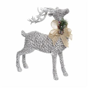 Alpine 15 in. Pinecone Reindeer
