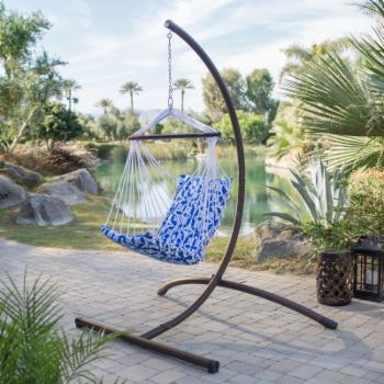 Coral Coast Kula Maui Hammock Chair with Steel Stand